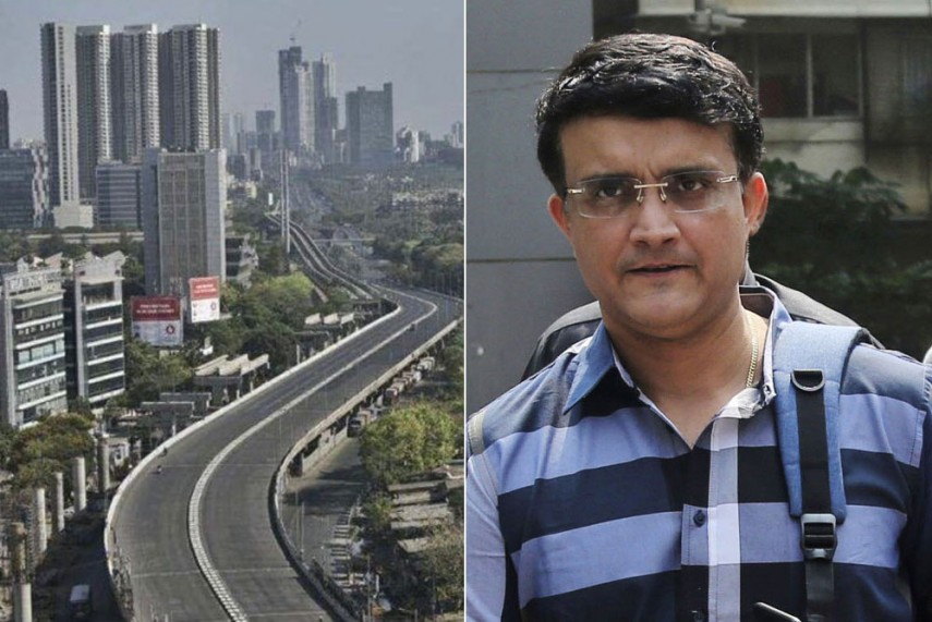 Ganguly shares the images of empty roads in Kolkatta and extends his support to the citizens of India