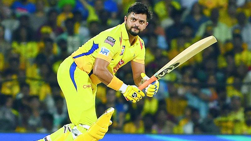 "Suresh Raina urges people to ""Stay Home, Stay Safe!"""