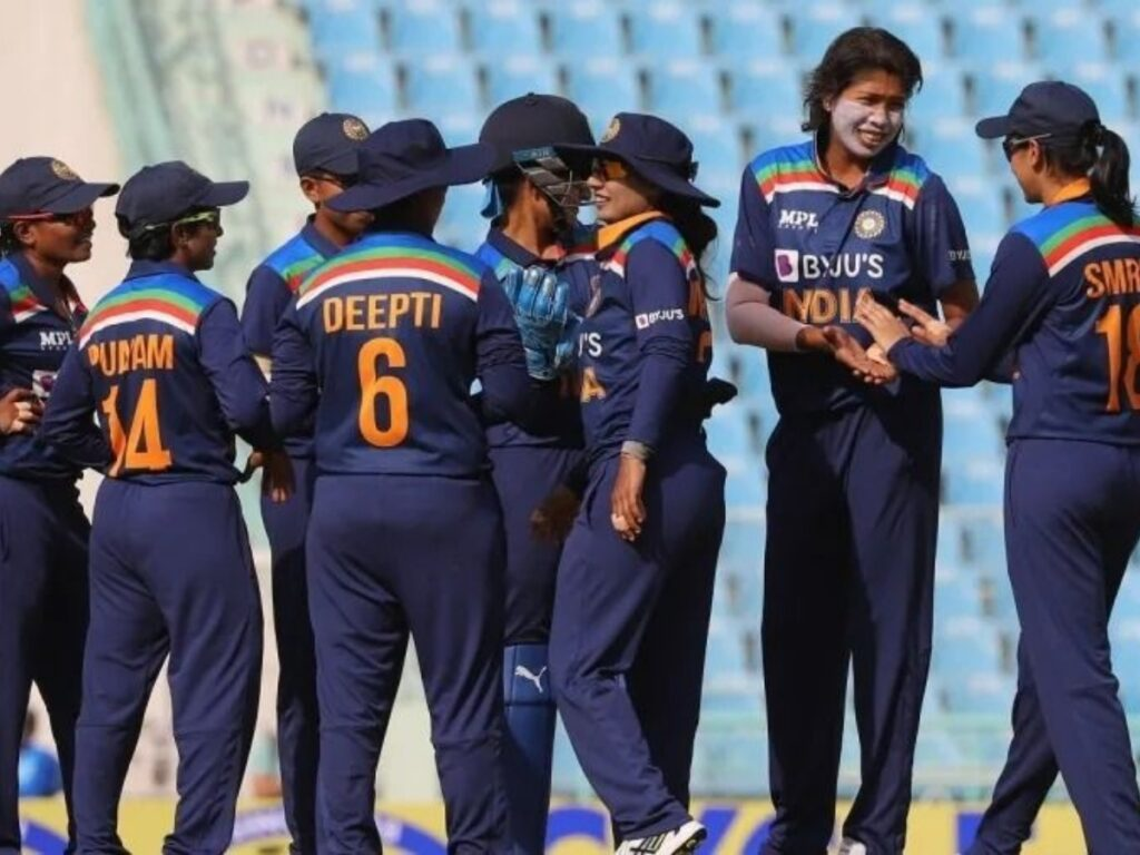 Indian Women's team receives first dose of COVID-19 Vaccine
