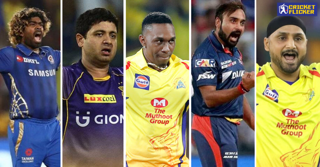 Top 5 highest wicket-takers in the IPL