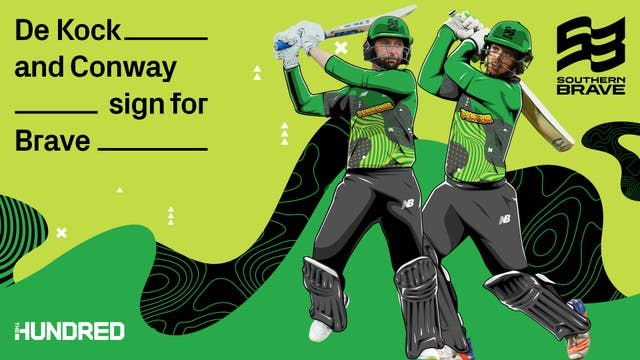The Hundred: Devon Conway & Quinton de Kock plays for Southern Brave