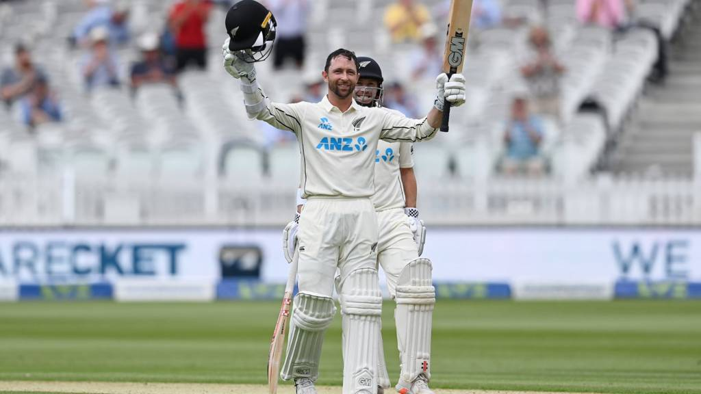 Devon Conway registers a blistering century