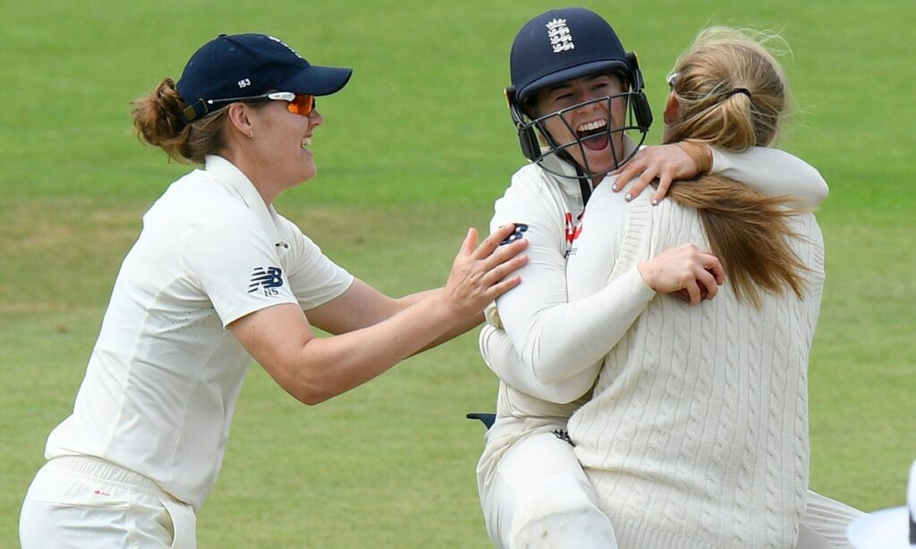 England Women's team for test match against India