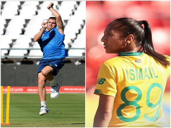 Nortje & Shabnim Ismail awarded as South Africa's Men's & Women's cricketer of the year award