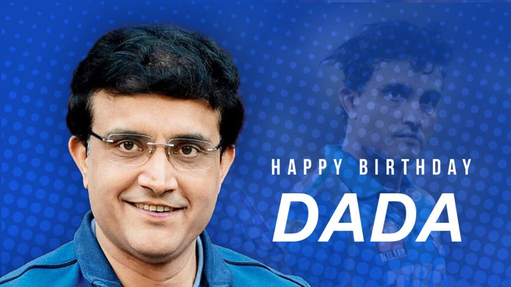 Sourav Ganguly turns 49 years old