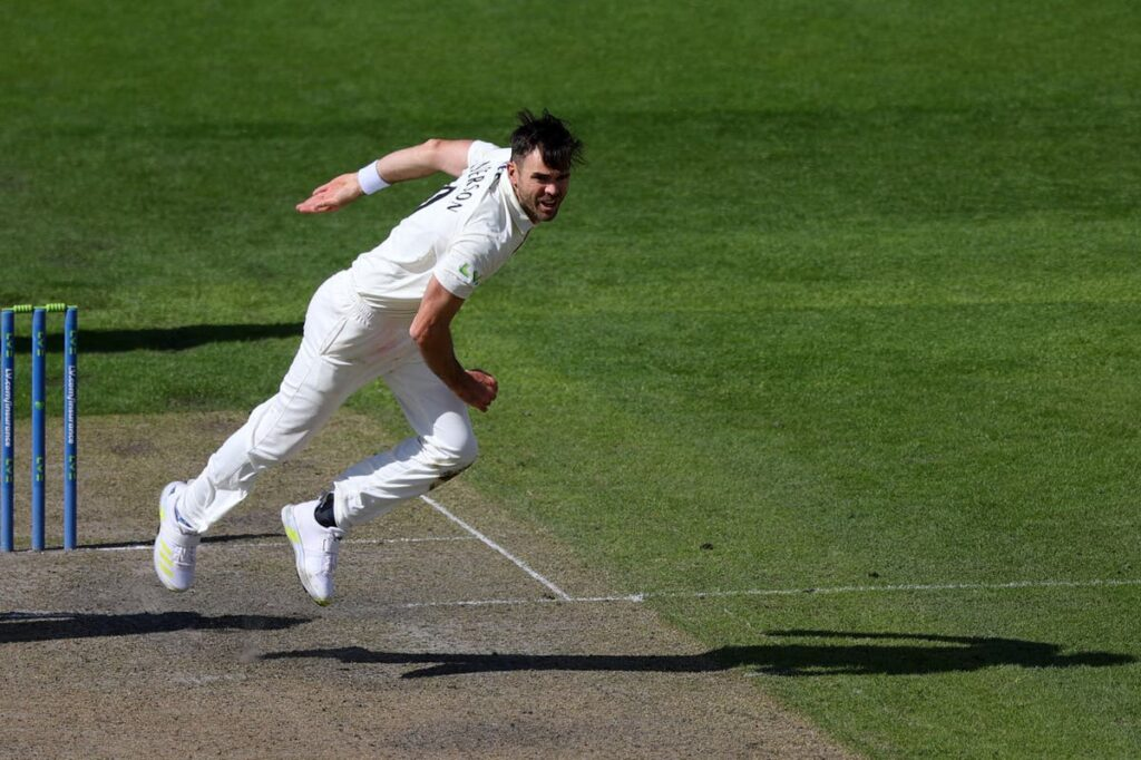James Anderson scalped 1000th first class wickets