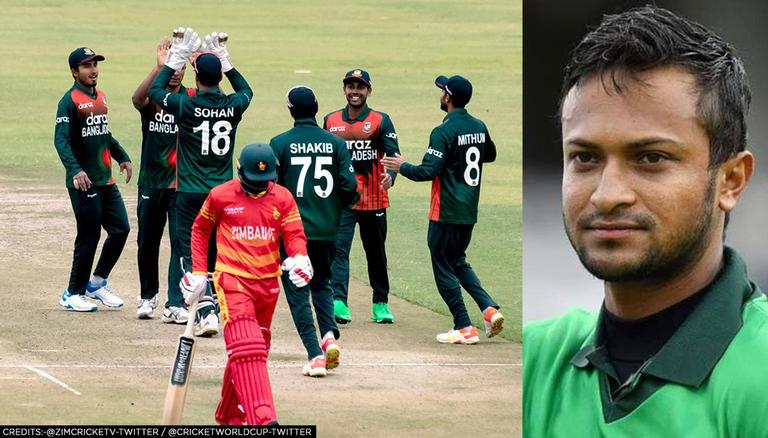 ZIM vs BAN: Shakib AL Hasan becomes Bangladesh's highest wicket-taker in tests, T20Is & ODIs