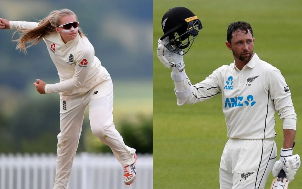 Devon Conway & Sophie Ecclestone has been awarded with the ICC Players of the Month award