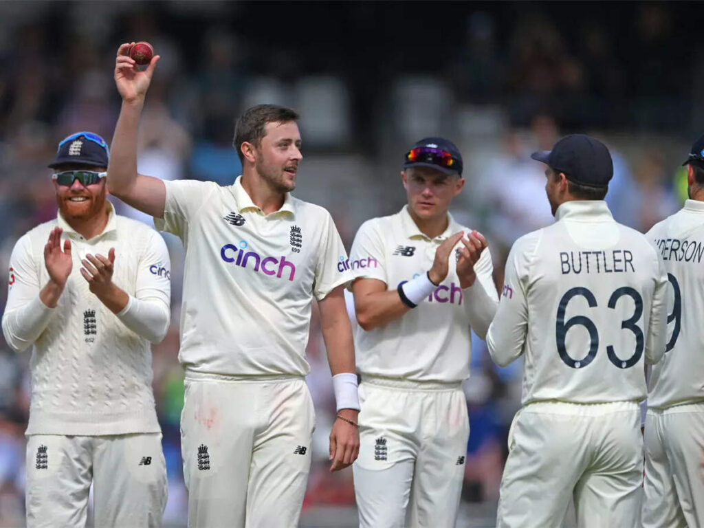 3rd Test: Ollie Robinson registers five-wicket haul as India lose by Innings & 76 runs to level series at 1-1