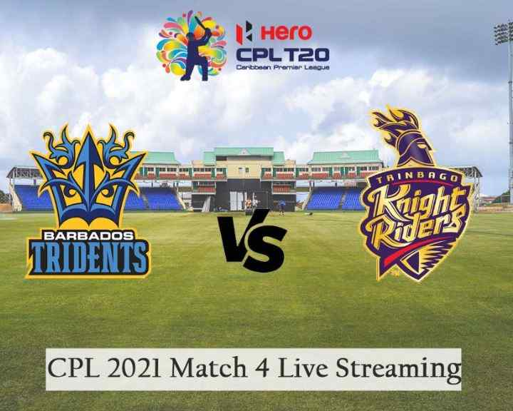 CPL 2021: Match 4, Trinbago Knight Riders vs Barbados Royals - Preview, Predicted XIs, Match Prediction, Live Streaming, Weather Forecast, and Pitch Report