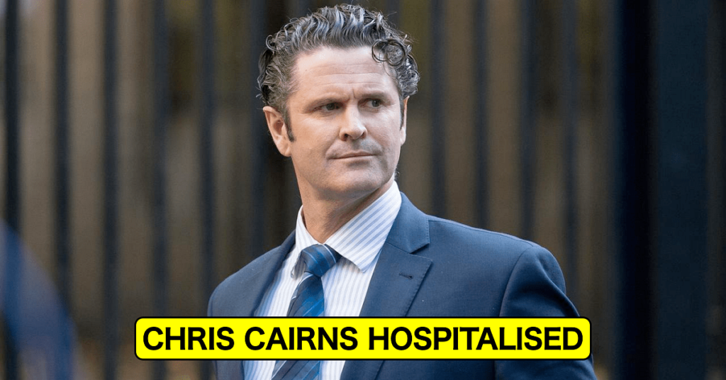 Latest Cricket News: Former New Zealand all-rounder Chris Cairns on Life Support