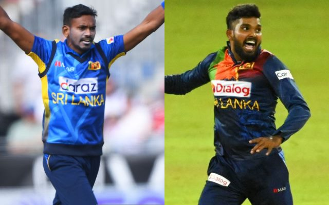 Hasaranga & Chameera yet to get Green signal from SLC for participation in the IPL 2021