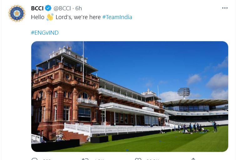 India vs. England 2nd Test: Visitors gear up for the Second Test at Lord's Cricket Ground