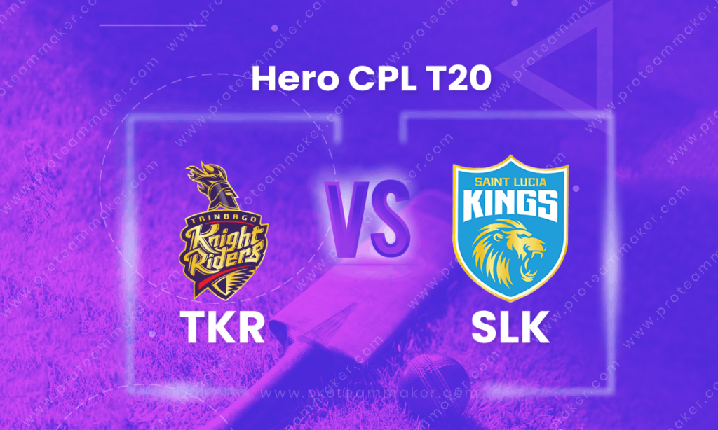 CPL 2021: Match 10, Trinbago Knight Riders vs Saint Lucia Kings- Preview, Predicted XIs, Match Prediction, Live Streaming, Weather Forecast, and Pitch Report