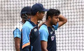 Mayank Agarwal ruled out of the first test against England due to Concussion