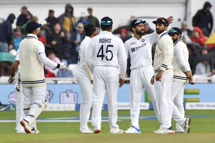 ENG vs IND, 1st Test: KL Rahul & Jadeja Gleaming fifties helped India to take a lead on day three
