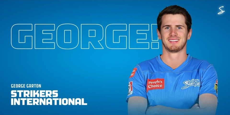 BBL: George Garton joins Adelaide Strikes for the Upcoming Season of the League