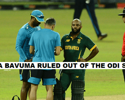 SL vs SA 2021: Temba Bavuma ruled out of the remainder of the White ball series, read to know why?