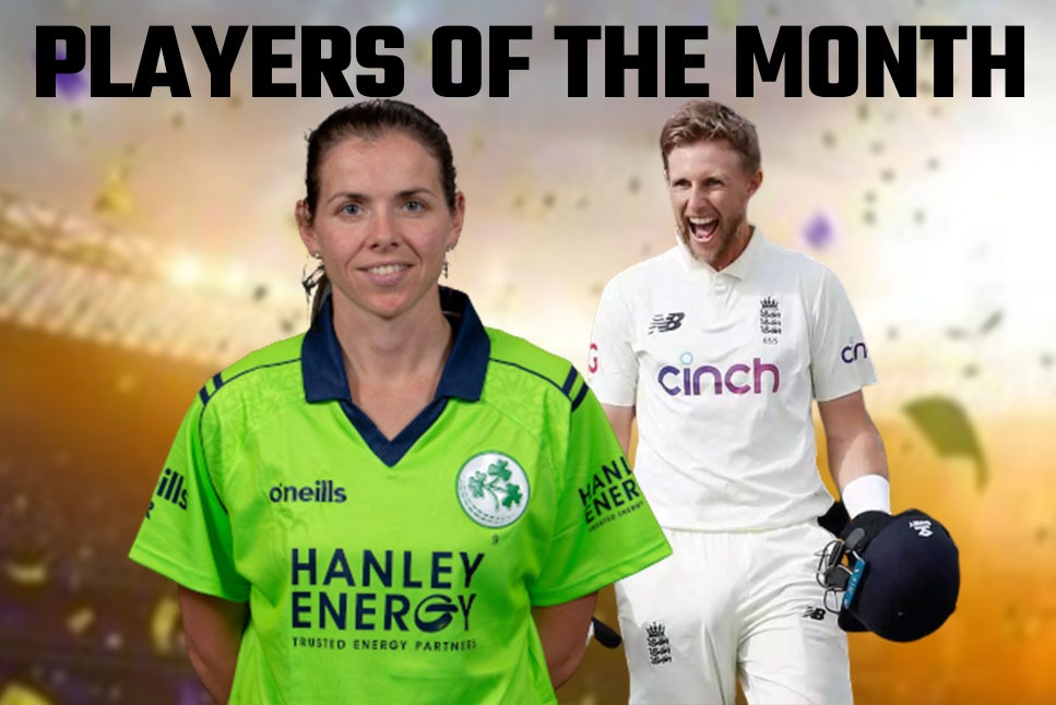 Joe Root, Eimear Richardson & 'a Special Guest' receives the 'Player of the Month' Award
